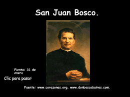 San Juan Bosco.