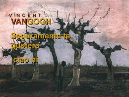 triibuto a Vincent Van Gogh