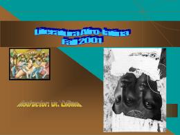 Literatura Afro-latina