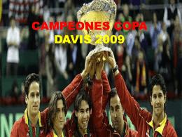 CAMPEONES COPA DAVIS 2008-2009