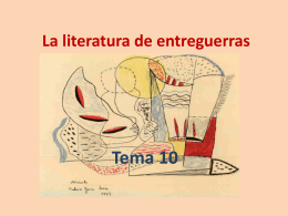 La literatura de entreguerras