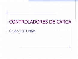CONTROLADORES DE CARGA - Proyecto de Energía