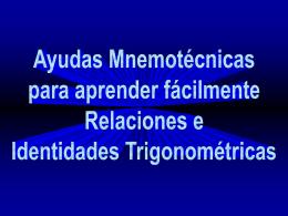 Ayudas Mnemotécnicas para aprender fácilmente