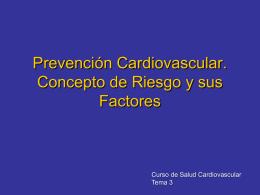 Salud y Sistema Cardiovascular