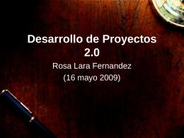 Web 2.0 - proyectosdospuntocero