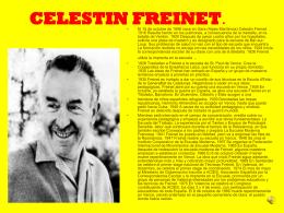 CELESTIN FREINET.