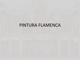PINTURA FLAMENCA - Historia del Arte II