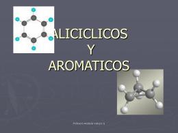 ALICICLICOS Y AROMATICOS - Hidrocarburos y más