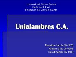 Unialambres C.A.