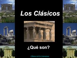 Los Clásicos ¿Qué son?