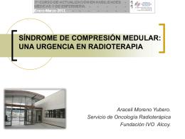 Síndrome de compresión medular: una urgencia en
