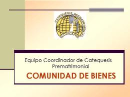 Catequesis Prematrimonial