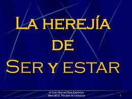 Ser y estar - Español para inmigrantes y