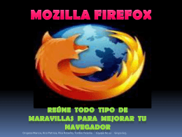 MOZILA FIREFOX - Capacitacion Blog | CEMSAD