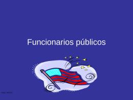 Funcionarios publicos