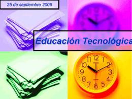 Los objetos tecnologicos - RecursosEDTecnologica -