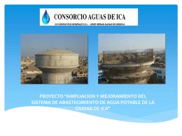 CONSORCIO AGUAS DE ICA OBRAS SECUNDARIAS – SISTEMA