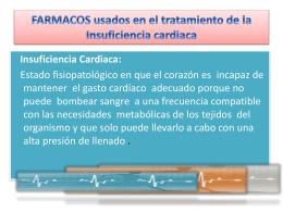 Fármacos utilizados en la insuficiencia cardiaca