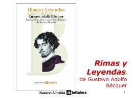 Rimas y leyendas, de Gustavo Adolfo Béquer