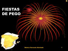 FIESTAS DE PEGO