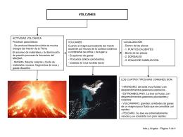 VULCANISMO EN LAS ZONAS OCEÁNICAS