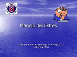 Manejo del Estrés - .:: GEOCITIES.ws