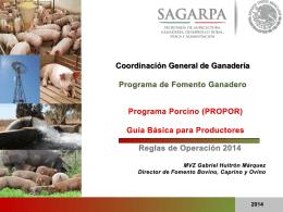 Guía Básica para Productores PROPOR 2014