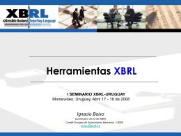 Herramientas XBRL