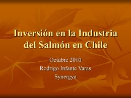 Inversión en la Industria del Salmón en Chile