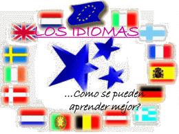 LOS IDIOMAS