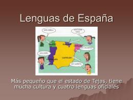 Lenguas/Idiomas de España