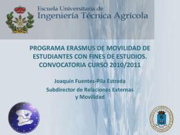 ERASMUS 2010/2011