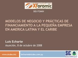 Conclusiones preliminares del estudio: Políticas y