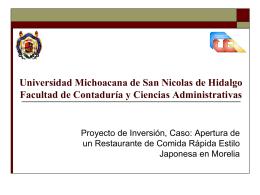 UMSNH Universidad Michoacana de San Nicolas de