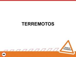 PROCEDIMIENTOS EN CASO DE ATENTADO Y TERREMOTO