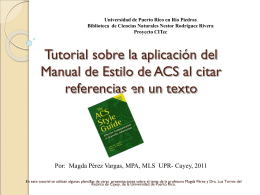 Manual de Estilo de la ACS