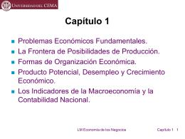 Problemas económicos fundamentales