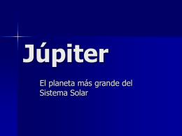 Júpiter - Inicio
