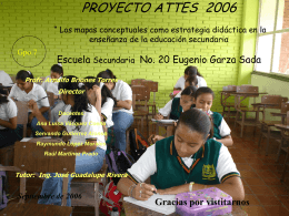 """Escuela Secundaria No.20 """" Eugenio Garza Sada"""