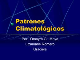 Patrones climatológicos