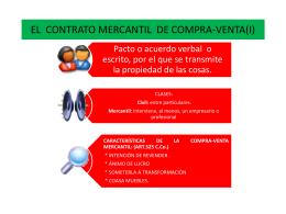 EL CONTRATO DE COMPRA-VENTA - ciclosAna