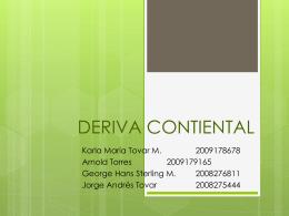 DERIVA CONTIENTAL - PLATETECTONICS2011 -