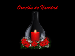 ORACION DE NAVIDAD - Mariamayor`s Blog | Just