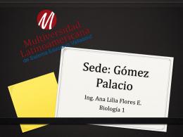 Sede: Gómez Palacio
