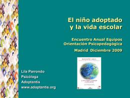 IV Confluencias en torno a la adopción -