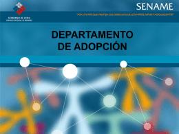 Diapositiva 1 - SENAME SERVICIO NACIONAL DE