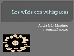 Como registrarse en wikispaces