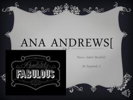 Ana Andrews