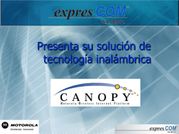 Introducción Canopy