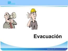 Evacuación - formulacionplanesemergencia